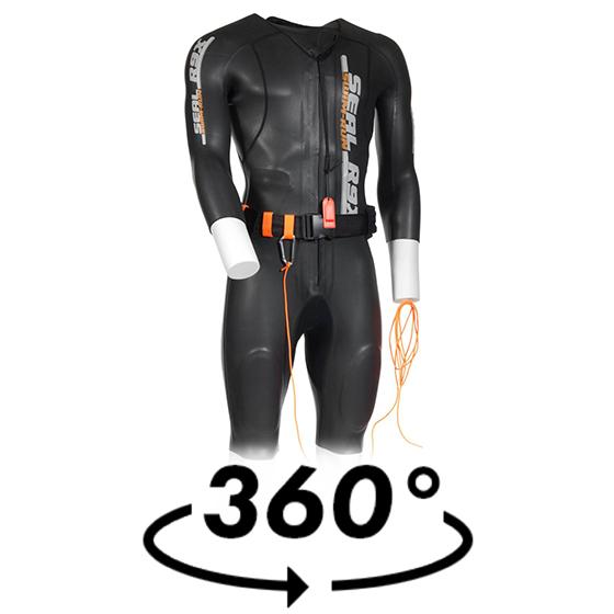 Wolff-Wear - SEAL R9X Swim run suit Unisex c5fab1563132